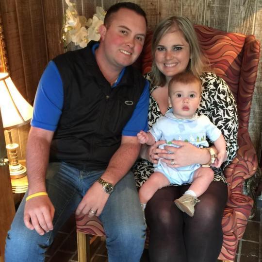 Cody, Crystal and Easton Hollis